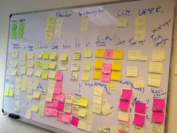 stickynotes task board