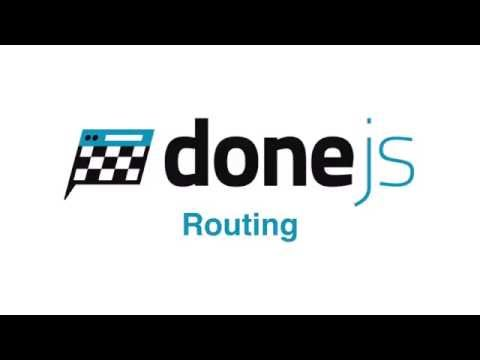 DoneJS Routing