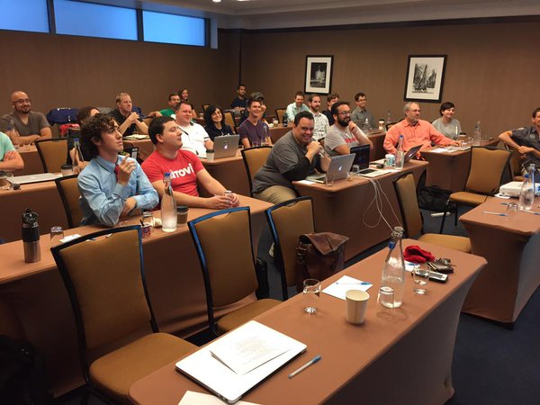 Annual technical training week in Chicago