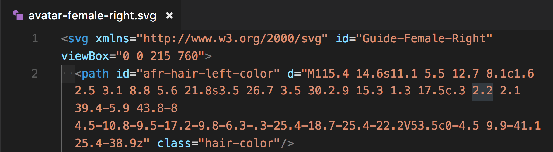 Clean up your code as you prefer - I add classes to make it easier to control with less CSS