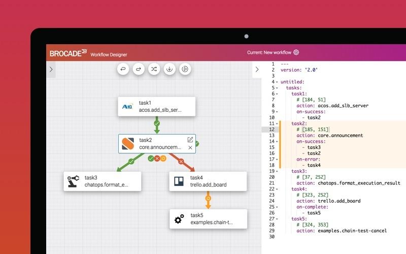 StackStorm Design Composer App