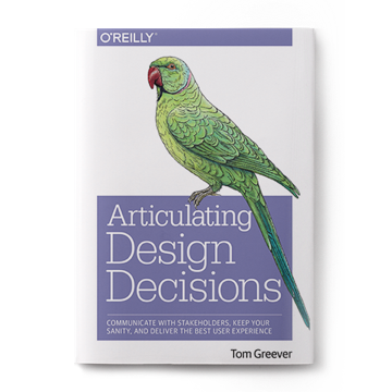 book articulating design decisions